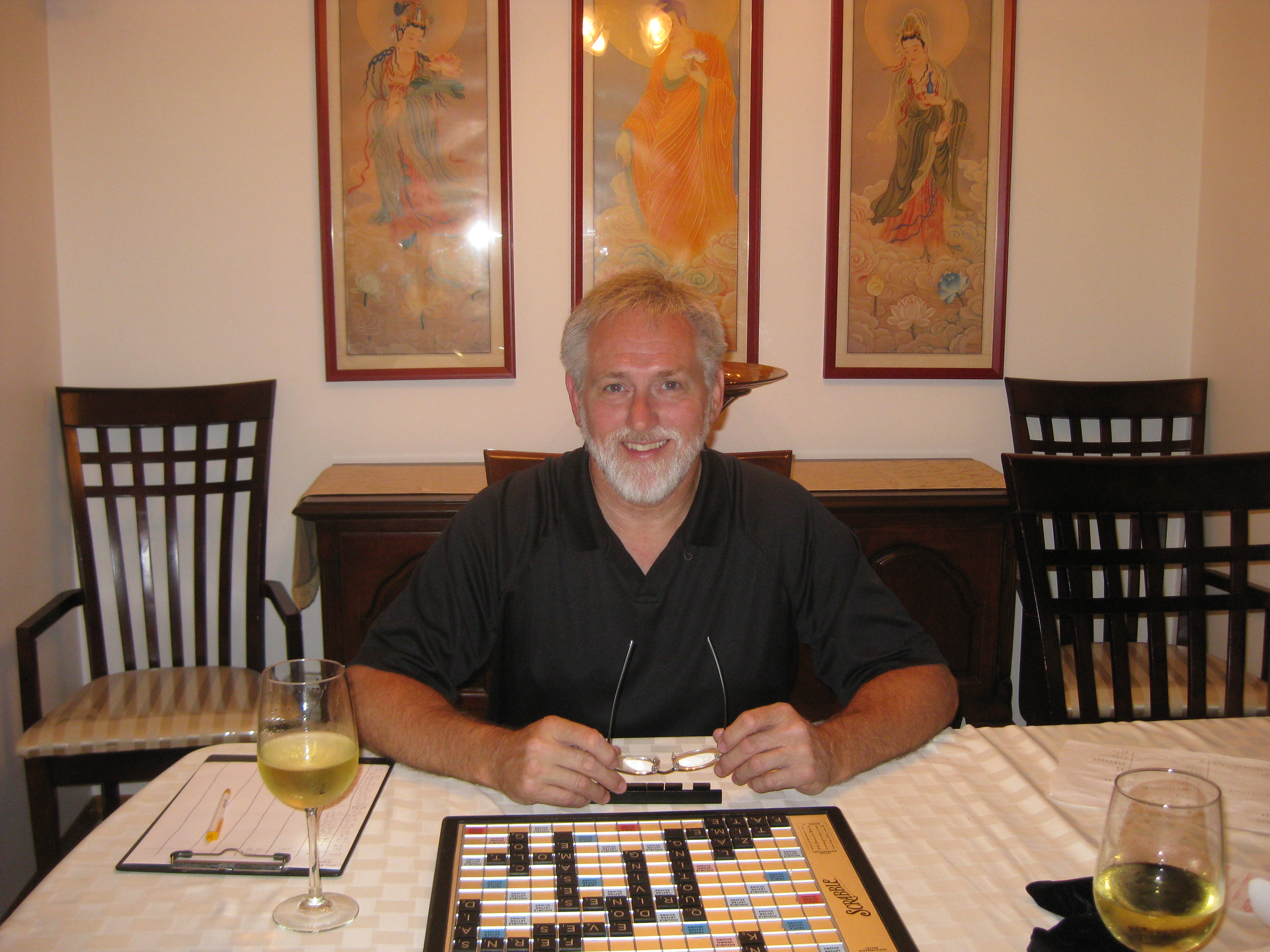 Greatest-ever Scrabbler's current victim!