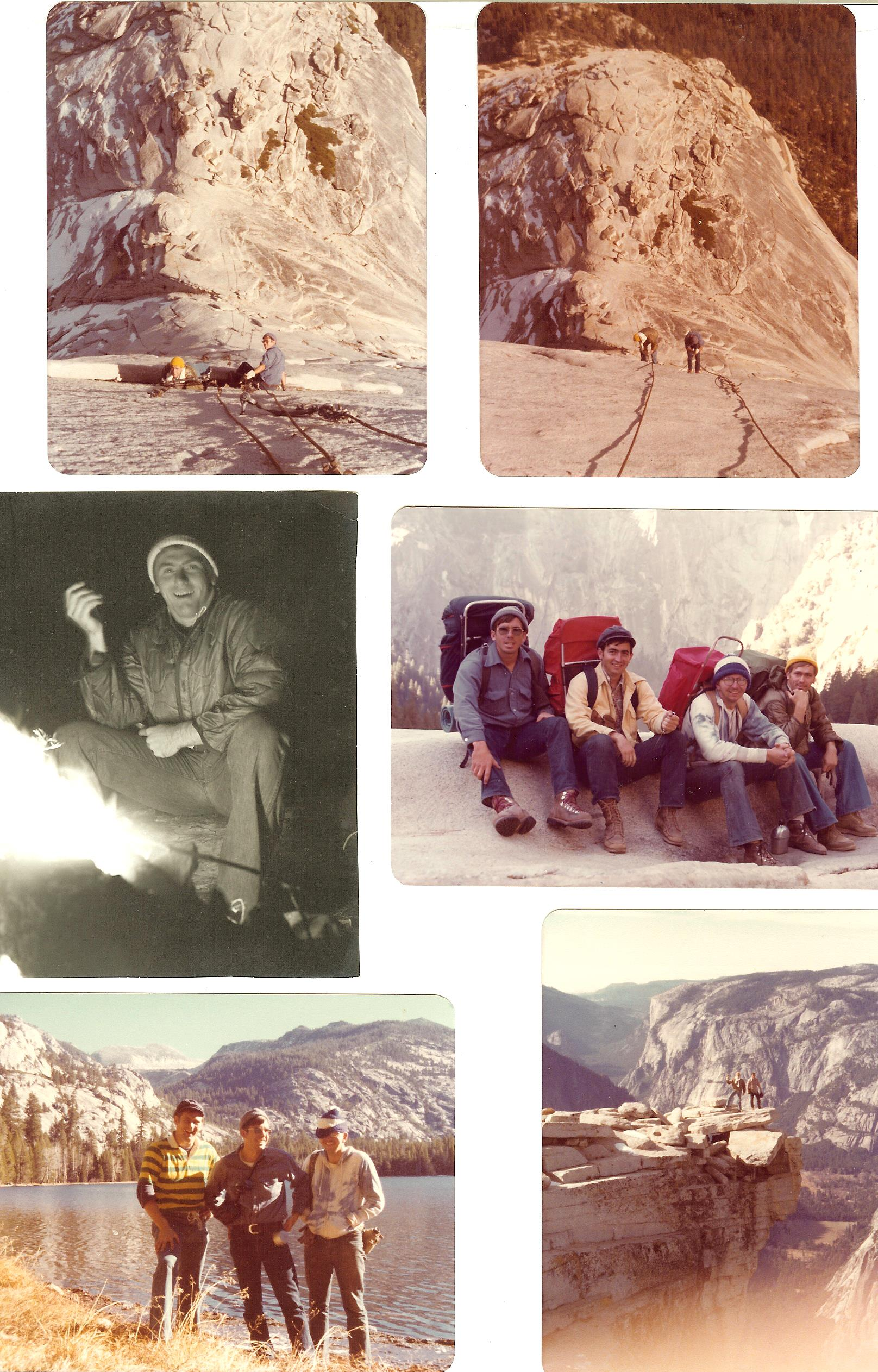 Half Dome hikers 001