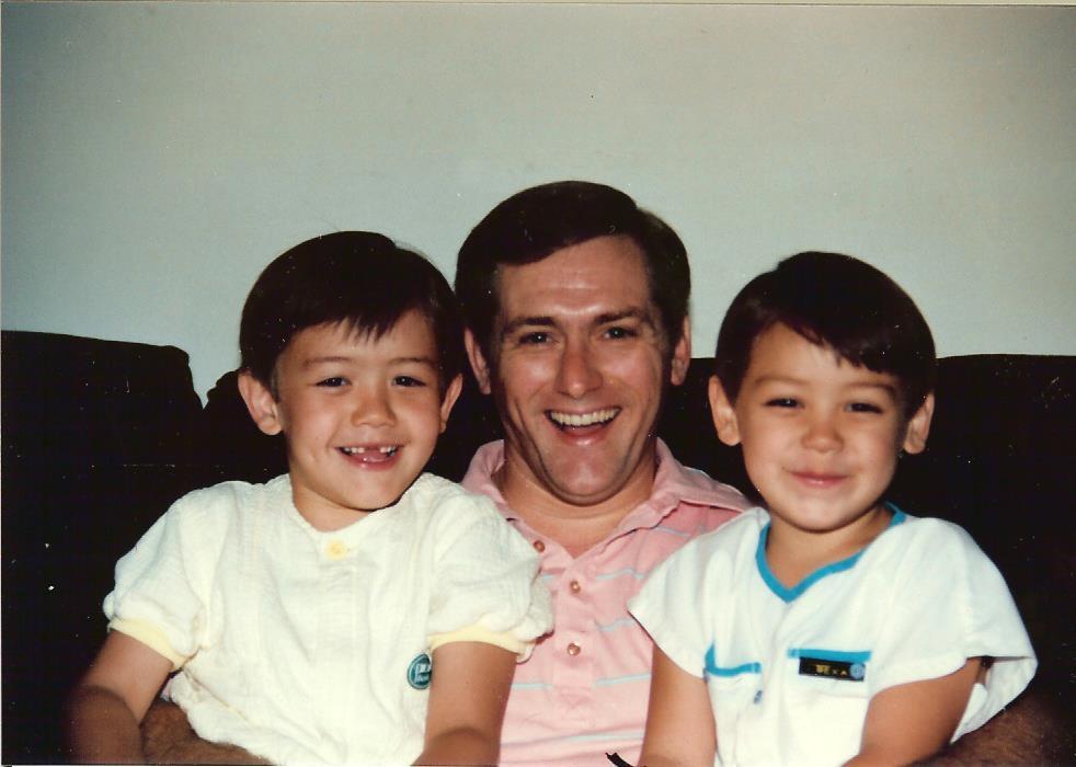 Jes, me and Tim
