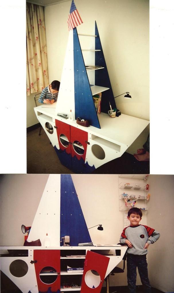 two pix of boat desk 001