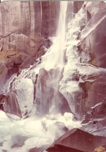 Yosemite-iced waterfall 001