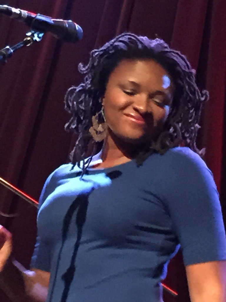 Lizz at Jazz Alley in Seattle on 9/15/2015.
