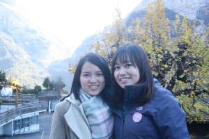 """My """"Video Production Crew"""" and tour buddies in Grindelwald and Interlaken"""