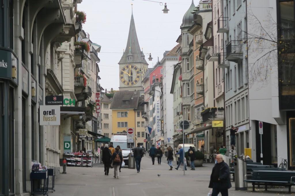 Along Bahnhofstrasse