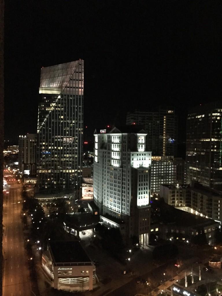 Buckhead area of Atlanta, about 1 a.m.