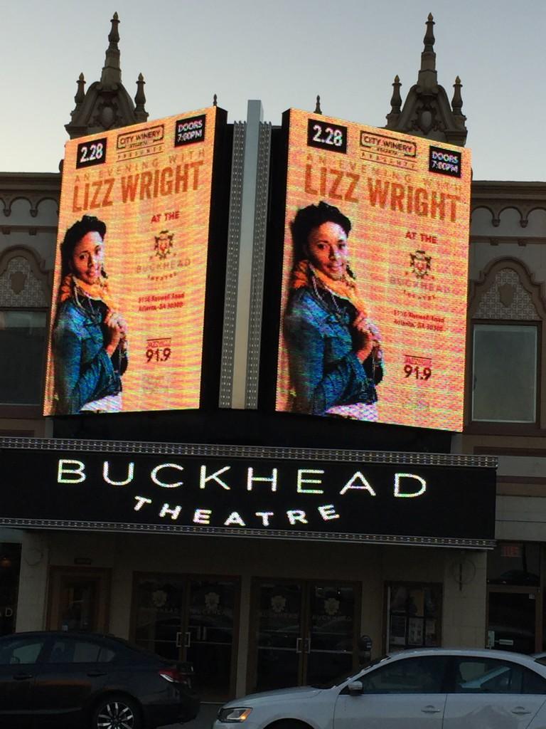 Buckhead Theater, Atlanta, Georgia.